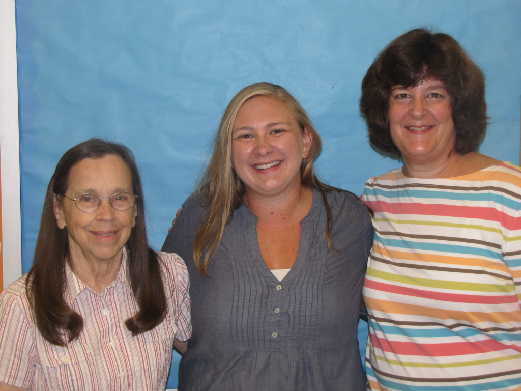 Lois Whitmore.Michelle Henry.Kathy Horning.